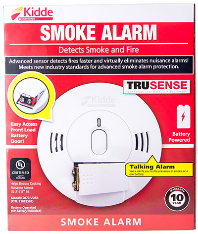 Kidde Battery-powered Smoke Alarms