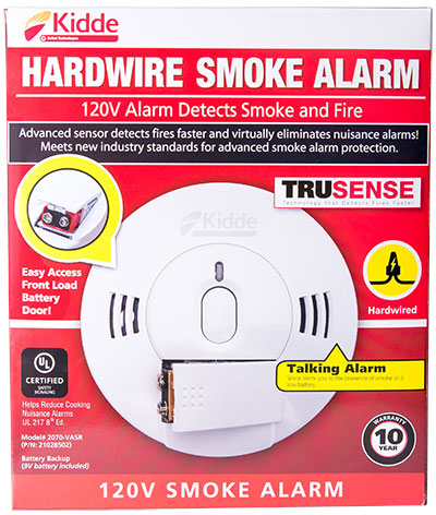 Kidde Hardwired Smoke Alarms